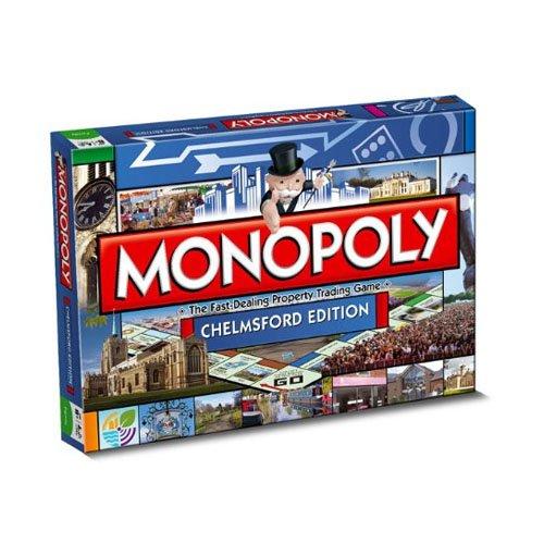 Monopoly - Juego de Tablero, 2 a 6 Jugadores (Winning Moves 19682) (versión en inglés)
