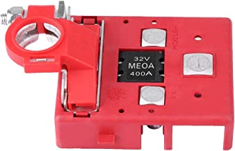 Akozon Battery Distribution Terminal Car Caravan 32V 400A Quick Release Fused Clamps Connector