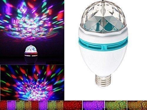Drehbare Stroboskop LED Kristall Stage Light für Disco Party Club Bar DJ. Ball Glühbirne Multi ändern Farbe