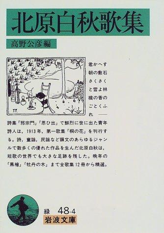 北原白秋歌集 (岩波文庫)の詳細を見る