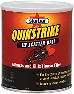 Farnam Home and Garden 3006192 Quikstrike Fly Scatter Bait, 5-Pound