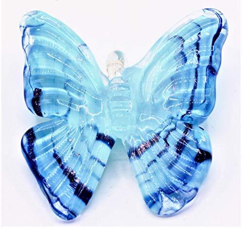 Farfalla in Vetro di Murano Made in Italy (Colore 7)