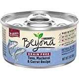 Purina Beyond Grain Free, Natural Gravy Wet Cat Food, Grain Free Tuna & Mackerel Recipe - (12) 3 oz. Cans
