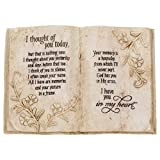 Jozie B 246200 Thought of You Today in Memory Book Shape Plaque