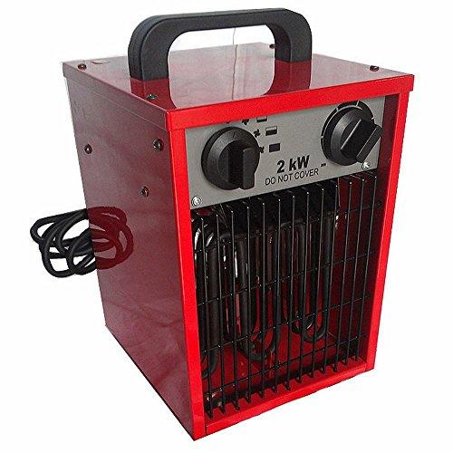 NQ Calentador de Ahorro de Energía para el Hogar Doble Uso - Ahorro de Energía Calentador Eléctrico Baño Calentador Eléctrico a Prueba de Agua,Rojo
