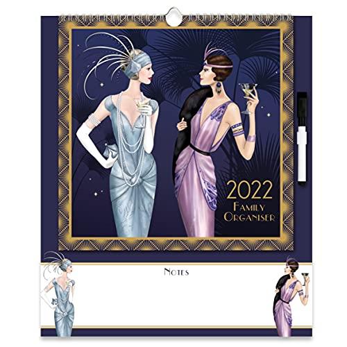 Robert Frederick Claire Coxon Art Deco Family Organiser Calendar 2022, 645, 22FC02