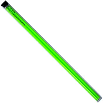 """ShopStraw SS-10B Aerosol Can Replacement Straws, 10"""", Neon Green, 10 Count"""