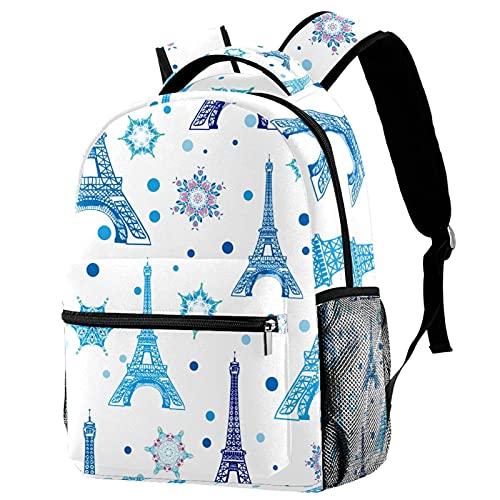 Mochila casual para la escuela de princesa, mochila para niñas y niños,...