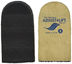 Instantly correct leg length discrepancies Three easily removable layers The non slip construction provides better balance