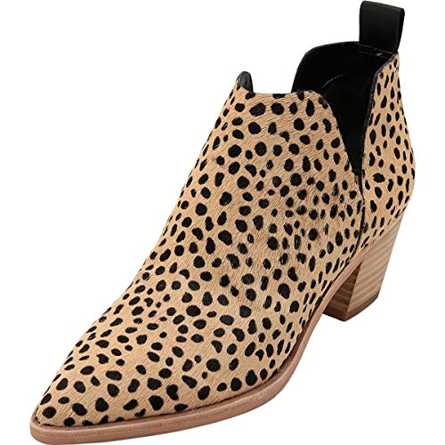 Dolce Vita Women's Sonni Ankle Boot, Leopard, 8