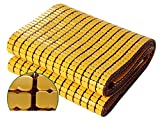 Cooling Summer Sleeping Mat,Double Beef Tendon Foldable Smooth Durable Carbonized Mahjong Bamboo Mattress - For Bedroom Double Student Pad,D-100190cm(39x75inch)