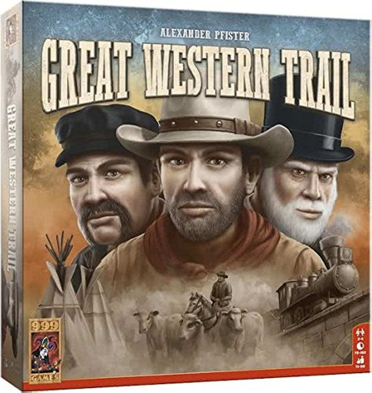 999 Games Great Western Trail B07BMD8R74 Ein Gleichgewicht zwischen Zähigkeit und Härte  | Zu einem erschwinglichen Preis