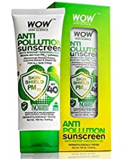 WOW Anti Pollution SPF40 Water Resistant No Parabens Miner