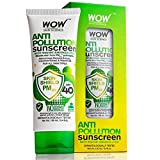 WOW Anti Pollution SPF40 Water Resistant No Parabens & Mineral Oil Sunscreen Lotion