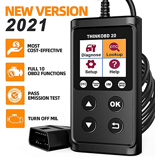 thinkcar ThinkOBD OBD2 Scanner Check Engine Code Reader Universal Diagnostic Scan Tool for All OBDII Cars After 1996