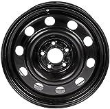 Dorman 939-108 Steel Wheel (17x7.5in.) for Select Ford / Mercury Models, Black