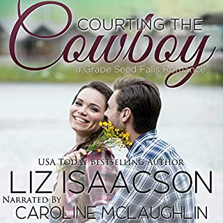 Courting the Cowboy: Christian Contemporary Romance cover art