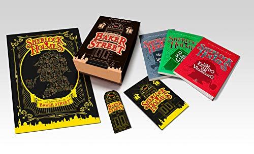 Box - Sherlock Holmes e os Irregulares de Baker Street (3 Livros + Caderneta + Marcador de Página + Pôster)