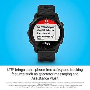 Garmin Forerunner 945 LTE, Premium GPS Running/Triathlon Smartwatch with LTE Connectivity, Black