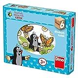 Dino Toys- Cubos de Madera del Puzzle (643123)