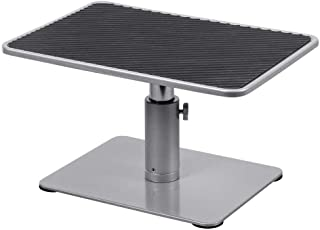 Monoprice Universal Monitor Riser Stand - Silver Perfect For Raising Your Monitor About 4.7 to 6.7 Inches - Workstream Col...