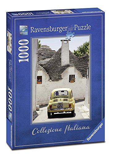 Ravensburger Puzzle, Puzzle 1000 Pezzi, Alberobello, Collezione Italiana, Puzzle per Adulti, Puzzle Italia, Puzzle Ravensburger - Stampa di Alta Qualità