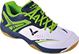 Victor , Chaussures de Badminton pour Homme Vert Blanc/Vert - Vert - Blanc/Vert, 39.5 EU
