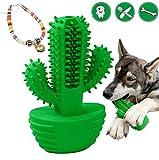 Sweetneed Cepillo de Dientes para Perro-Limpiador de Dientes de Perro- Limpieza de Dientes de Perro Juguetes para Masticar Cuidado Oral para Mascotas Regalo de Amante de los Animales (Verde Azul)