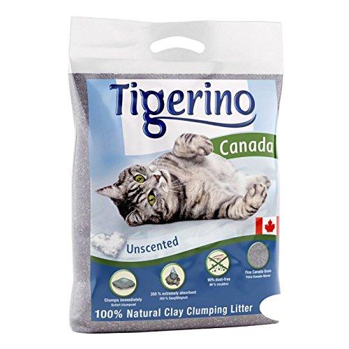 novità Lettiera Canadese 2 pacchi da 12 kg per Gatti al 100% in Granulato di Argilla Naturale: Elevato Potere agglomerante (350%), Alto rendimento Non polverosa. Senza Profumo, per Gatti sensibili.