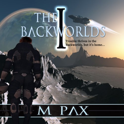 The Backworlds audiobook cover art