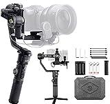 Zhiyun Crane 2S Estabilizador de Camara, Gimbal DSLR, para Cámaras Videocámara Sony Nikon D850 BMPCC 4K/6K Panasonic S1H Canon EOS 1DX Mark II FUJIFILM X-T3, Disparo Vertical,12 horas Trabajo