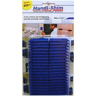 Handi-Shim Heavy Duty Reusable Plastic Construction Shims for Spacing Leveling,