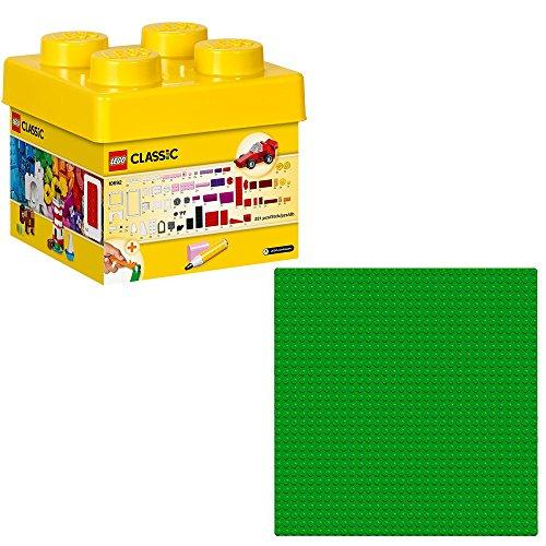 LEGO Creator 2-teiliges Set 10692 10700 Classic Bausteine-Set + Grundplatte Grün