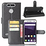 Manyip ZTE Blade V8 mini Case PU Leather Stand Wallet Flip