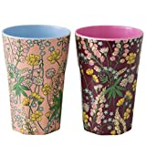 Rice Melamin Latte-Becher 2er Set Lupin Print