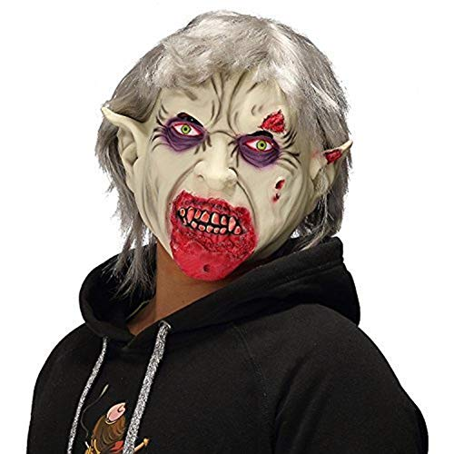 YYH Scary Halloween Mask, Horror Vampire Zombie, Accesorios de Disfraces for Fiesta de Disfraces