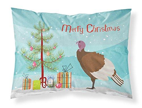 Caroline's Treasures Bourbon Red Turkey Hen Christmas Funda de Almohada, Multicolor, Estándar