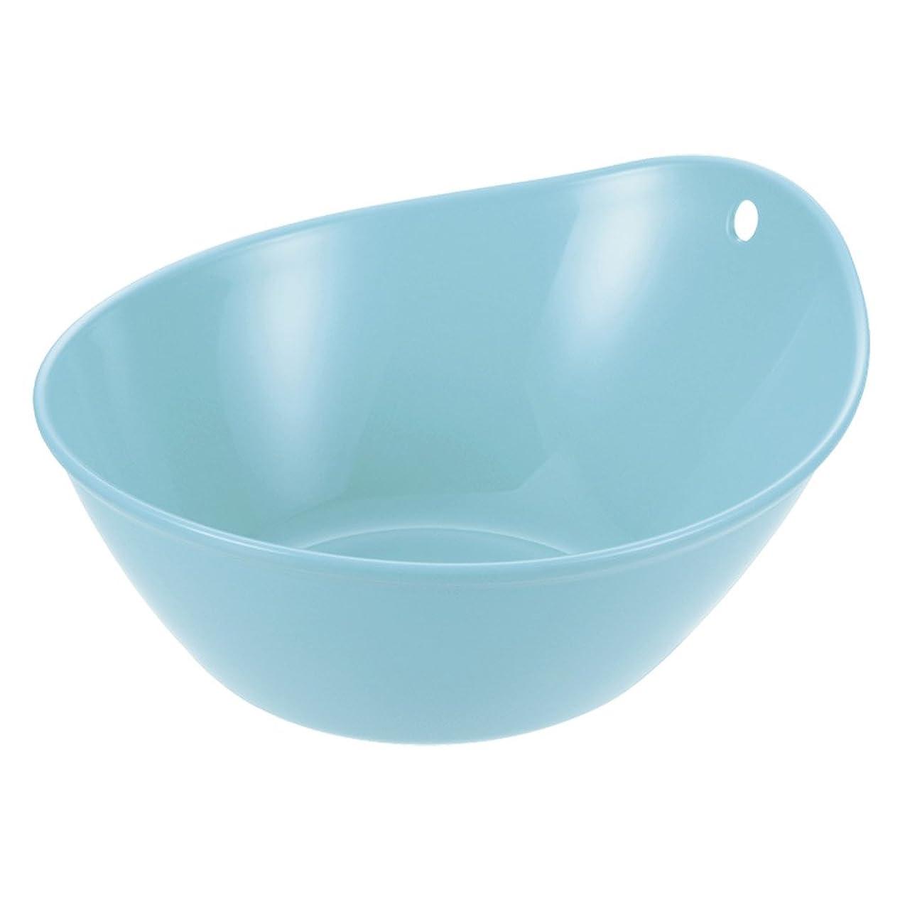 ドロップ切る迅速ぼん家具 湯おけ 湯桶 日本製 抗菌仕様 洗面器 手おけ 桶 風呂桶 洗面桶 防カビ ライトブルー