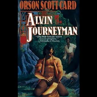 Alvin Journeyman audiobook cover art