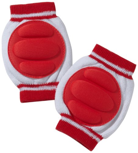 Playshoes Unisex - Baby Set 498801 Knieschoner von Playshoes, Gr. one size, Mehrfarbig (rot)