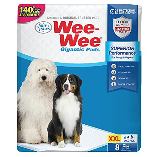 Wee-Wee XL Potty Pads, 40 Count, X-Large
