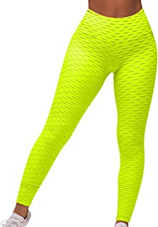 Women's Yoga Pants High Waist Workout Leggings Tummy Control Running Activewear