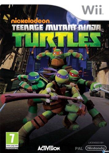 Activision Teenage Mutant Ninja Turtles, Wii - Juego (Wii, Nintendo Wii, Acción, RP (Clasificación pendiente))