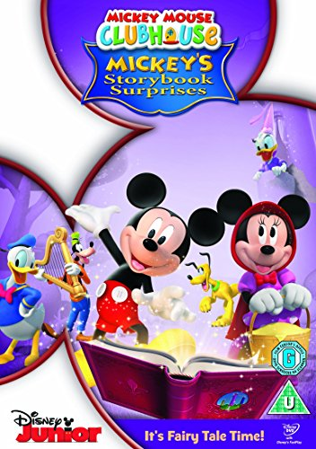 Mickey Mouse Club House: Storybook [Reino Unido] [DVD]