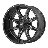 MOTO METAL MO970 SATIN BLACK MILLED MO970 20x10 5x127.00/5x139.70 SATIN BLACK MILLED (-24 mm)