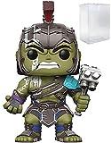 Marvel: Thor Ragnarok - Gladiator Hulk Helmeted Funko Pop! Vinyl Figure (Includes Compatible Pop Box Protector Case)