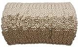styleBREAKER Diadema de punto para mujer, 2 colores, con degradado degradado, forro polar térmico, para invierno, 04026057, beige, Talla única