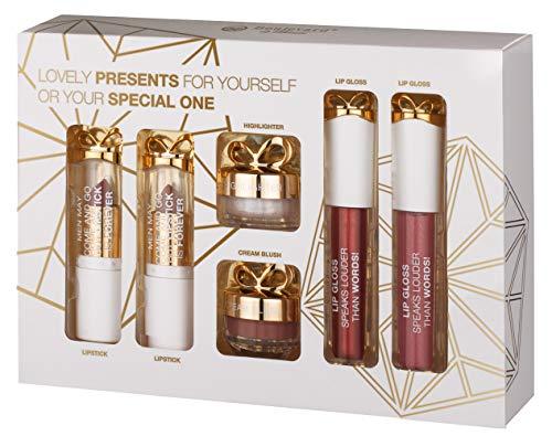 Lovely Lips - Gift Set von Boulevard de Beauté - Beauty Geschenkset mit besonderen Schätzen fürs Gesicht