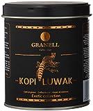 Granell - Exotic Collection - Kopi Luwak | Café en Grano 100% Café Arabica - Café Gourmet de Marcado Aroma y Amargura - 100 Gramos