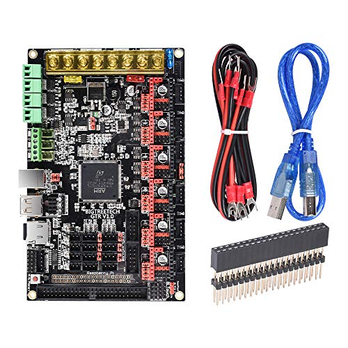 BIGTREETECH GTR V1.0 32bit Controller Panel Board for 3D Printer Compatible With12864LCD/ TFT24 Support 8825/TMC2208/Tmc2130